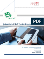 Report - Industrie 4.0 - IoT Vendor Benchmark 2017