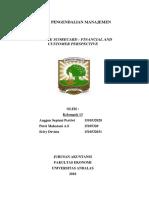 Balance Scorecard Financial and Customer Perspective