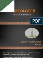 Evolución Histórica de La Escatología
