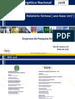 Relatório Síntese 2018-Ab 2017