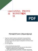 6. Organisasi Proyek