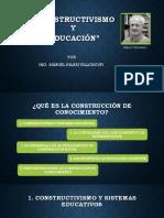 Constructivismo y Educacion Por Samuel Hilari