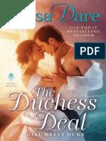 El Trato de La Duquesa - Tessa Dare