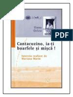 Oana Orlea - Cantacuzino, Ia-ti Boarfele Si Misca!