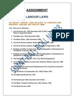 CM Labour Laws