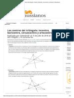 Los Centros Del Triángulo_ Incentro, Ba...Circuncentro y Ortocentro _ Gaussianos