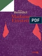 Benedict Marie - Madame Einstein