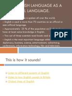 The English language as a universal language.ppt