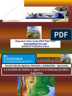 Acuña Juan C - ECANA UNNOBA Oct2018-Los Sistemas Jurídicos Para El Uso y Conservación Del Suelo Agrario