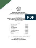 Proposal Kkn Ds.batuagung 2017