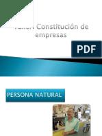 Flujograma de Constitucion de Empresa