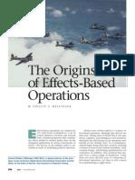 02 - Origins of EBO - Journal