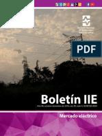 Boletin IIE 04 2016 Mercado Eléctrico