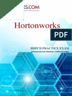 HDPCD PRACTICE EXAM- Horton Works