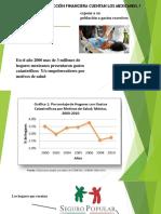 CON QUE NIVEL DE PROTECCIÓN FINANCIERA CUENTAN LOS MEXICANOS.- SALUD