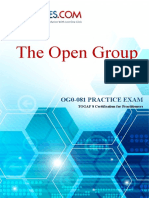 TOGAF 8 Certification for Practitioners