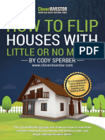 How to Flip Houses With Little or No Money Down