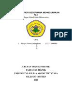 Sistem Parkir Sederhana Menggunakan Plc Tugas Mekatronika