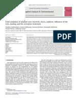Applied Catalysis B- Environmental Volume 96 Issue 1-2 2010 [Doi 10.1016_j.apcatb.2010.02.009] Pandian Lakshmanan; Laurent Delannoy; Vincent Richard; Christoph -- Total Oxidation of Propene Over Au