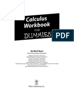 Calculus Workbook for Dummies