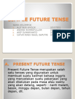 Simple Future Tense Group 1 Si Te