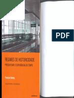 Regimes de historicidade presentismo e experiências do tempo [François Hartog].pdf