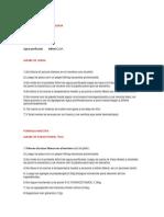Formula de Jarabe de Goma