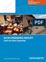 The Un-habitat Slum Upgrading Facility (Suf) Working Paper 10