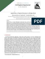 UK4 - Application of Spatial Structures in Bridge Deck