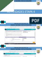 ACTIVIDADES ETAPA 4