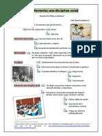 La Enfermería Una Disciplina Social - Resumen de Vílchez y Sanhueza