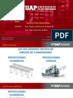 Dibujo Arquitectonico 3 PERSPECTIVA ORTOGONAL