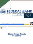 Federal Bank Pres