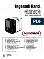 Ingersoll Rand Irn90k 160k Cc, Irn125h 200h Cc, Irn75k 160k 2s, Irn100h 200h 2s Parts Catalogue (July 2005)