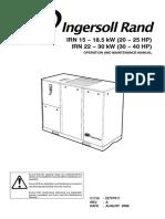 IRN 20 - 25 HP, 30 - 40 HP Operation and Maintenance (Aug 2006).pdf