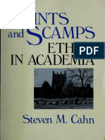 Saints and Scamps Ethics in Academia
