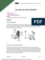 Sistema de Caja de Cambio Grso905