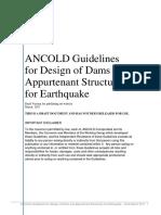 ANCOLD Earthquake Guideline Wm Draft 270317 v3