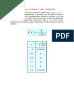 Interpolacion Mediante Splines (1)