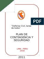 PLAN DE CONTEINGENCIA  Y SEGURIDAD  DE SAN JUAN DE LURIGANCHO.doc