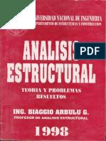 Analisis Estructural Biaggo Arburu