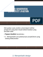 ANALISIS SENSITIVITAS (BARU)