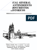 MANUAL General de Mantenimiento de Monumentos Historicos0001