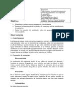 Práctica 7 Poder Reductor, Formación de Osazonas y Síntesis de Petaacetato de Β-D-glucosa