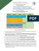 Información Entrega de Boletas