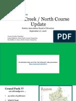 Rescue Reston North Course Presentation