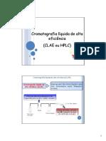 AULA Cromatografia Líquida e Cromatografia a Gás