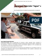 """08-08-2018 Llega Grupo de Operaciones Especiales """"Jaguar"""" a Zihuatanejo."""