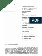 Documenti Radiazione Mario Ciancarella