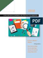 Evaluacion Económica de Proyectos Mineros